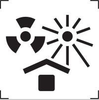 icone proteger de la chaleur et de sources radioactives