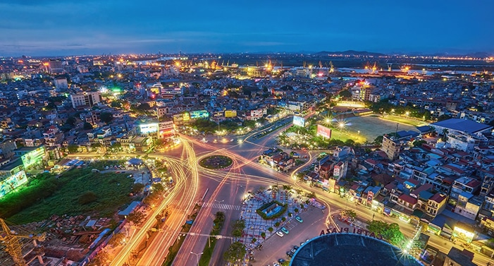 photo de Hai Phong la nuit
