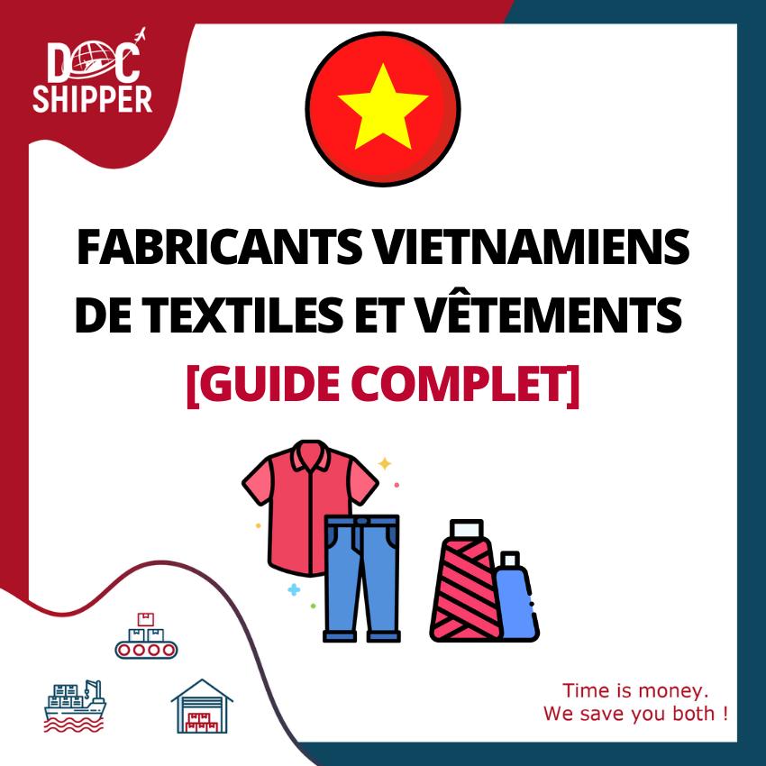 fabricant textile vetement vietnam