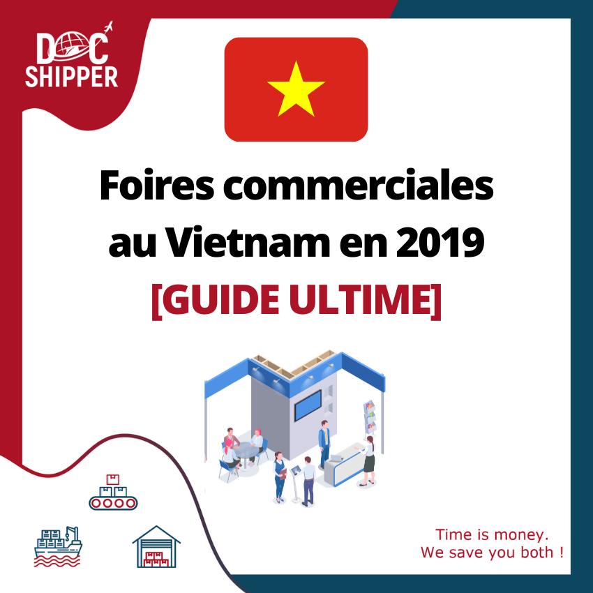 foire commercial Vietnam