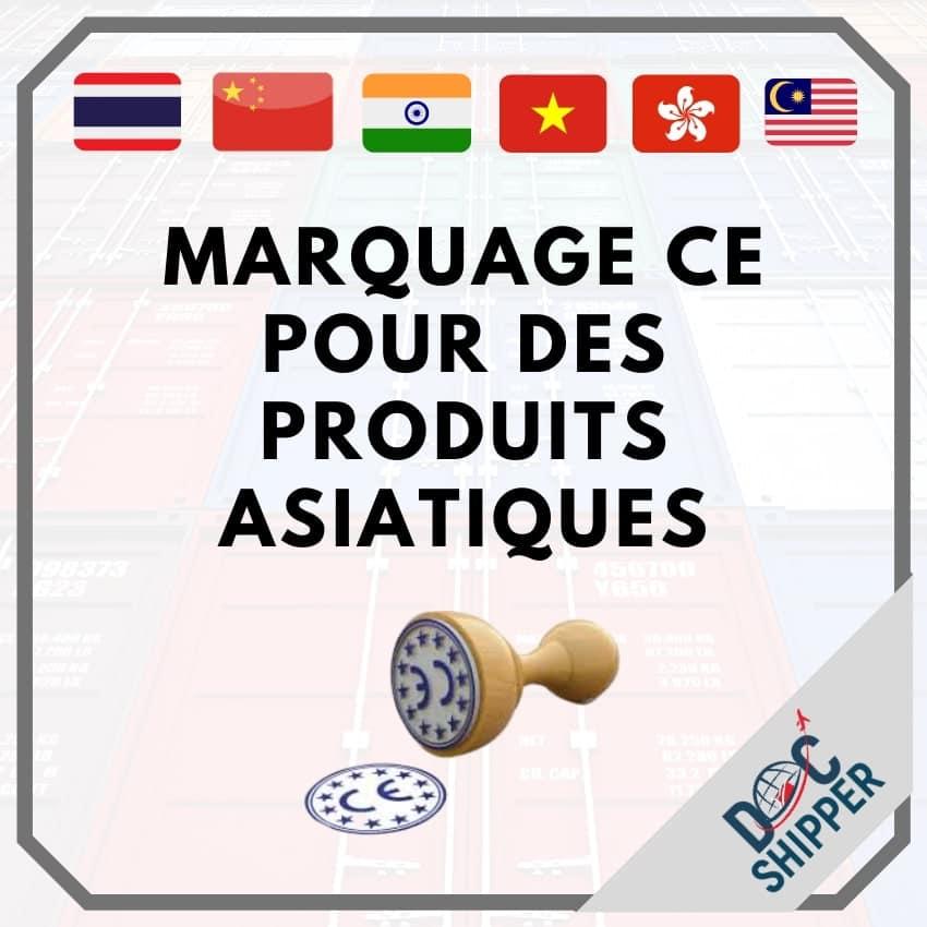 marquage CE produits asiatique