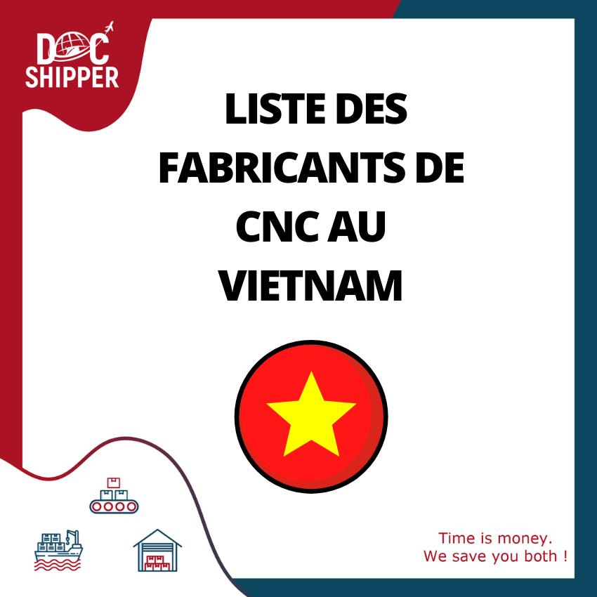 fabricant CNC vietnam